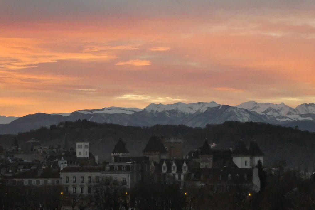 Pau, chaine des Pyrénées, proche Le Pic du Midi