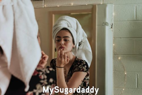 La routine beauté pour les Sugar babies