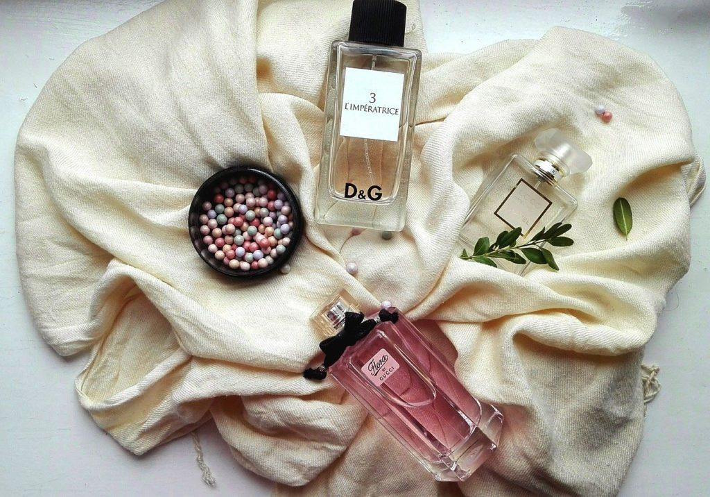 routine beauté : le parfum