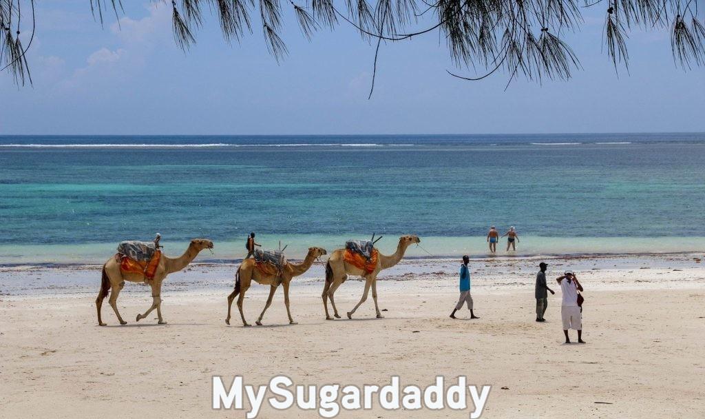 Diani beach au Kenya