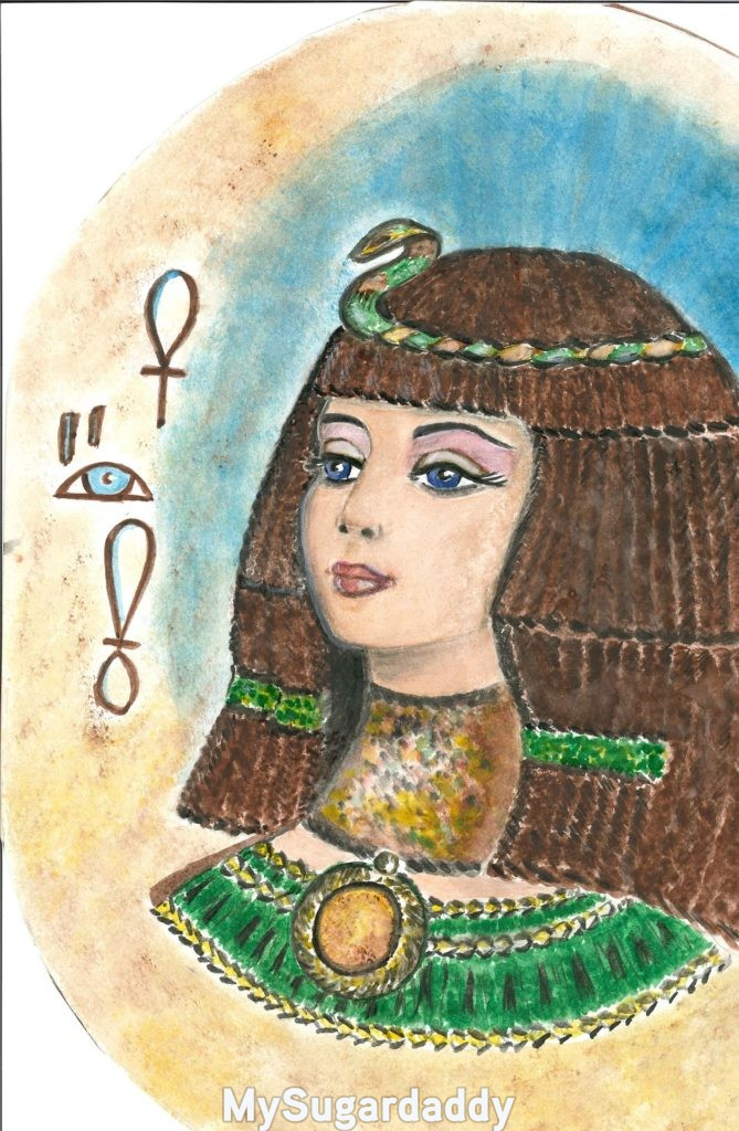 dessin reine egypte