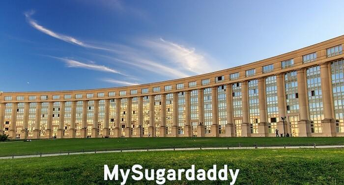 sugar baby montpellier esplanade europe parc monument
